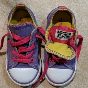 Toddler converse Chuck Taylor double tounge